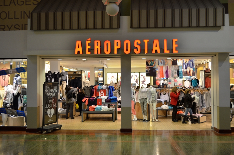 Aeropostale Seeks to Auction Assets